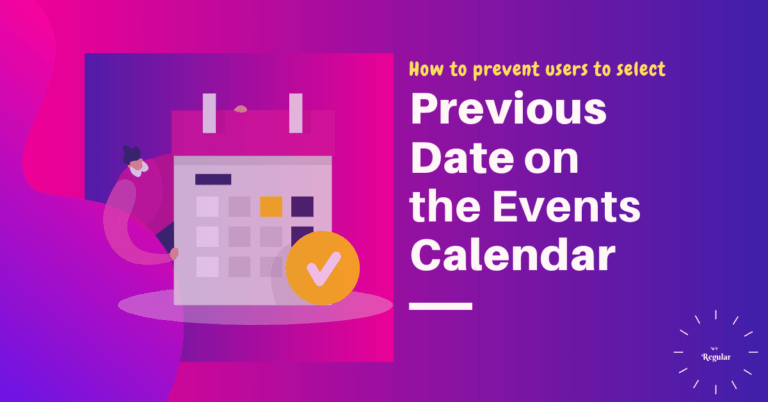 Disable-Event-Calendar-PastDate