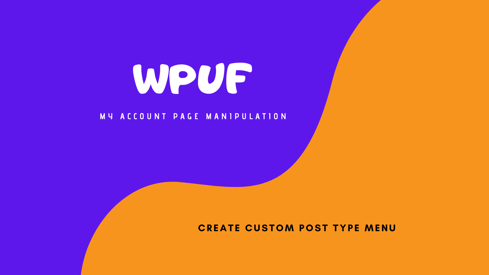 How to add a custom section-menu on WPUF Account page
