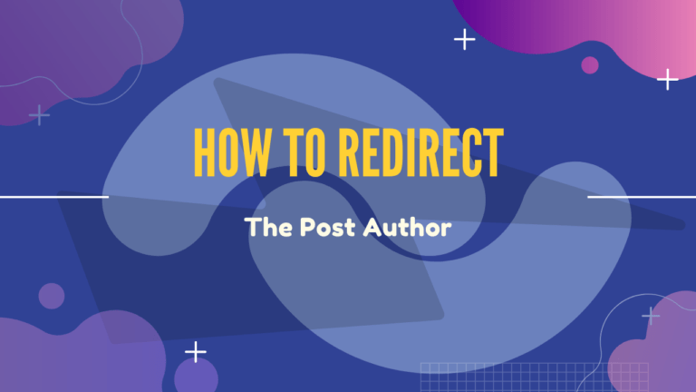 Redirect-Post-Author-To-Custom-URL