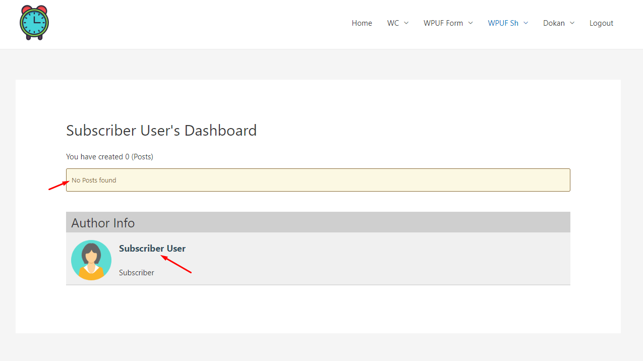 How to redirect the Post Author to custom URL 1