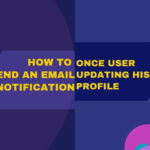 How to send an email once the user updates his profile