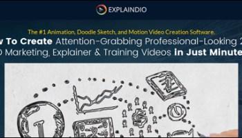 Explaindio - Video creation tool