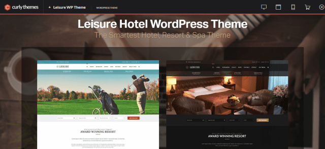 Leisure premium hotel theme
