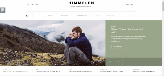 WordPress Themes for Bloggers