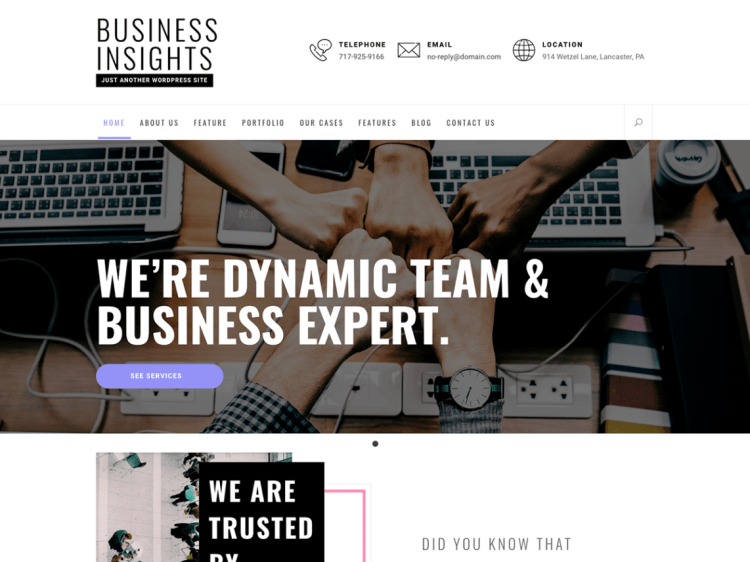 trending free WordPress themes, best free Multipurpose WordPress themes