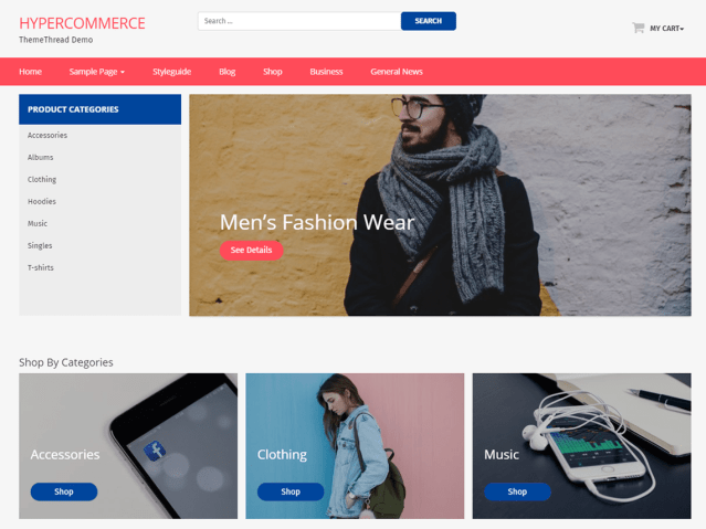 eCommerce WordPress themes for online stores