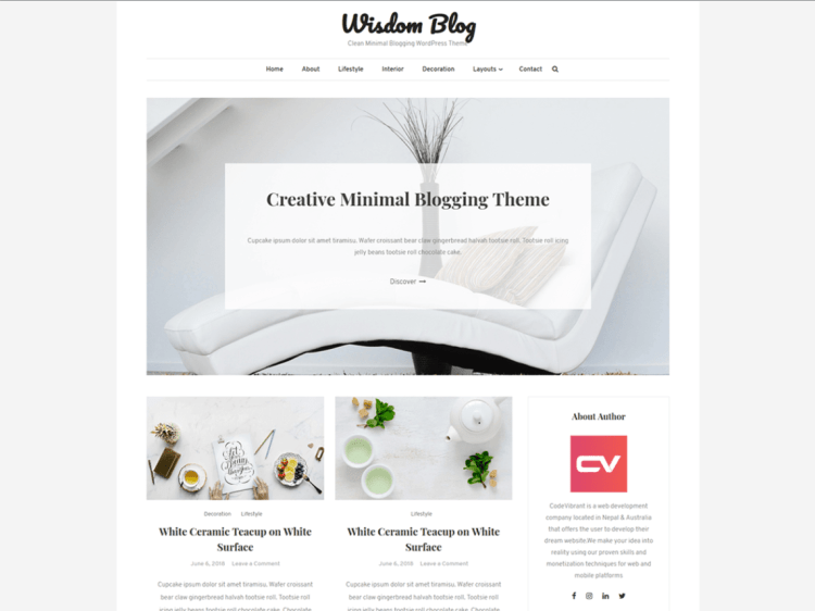 Wisdomblog-free-best-WordPress-blogging-themes-WPreviewteam