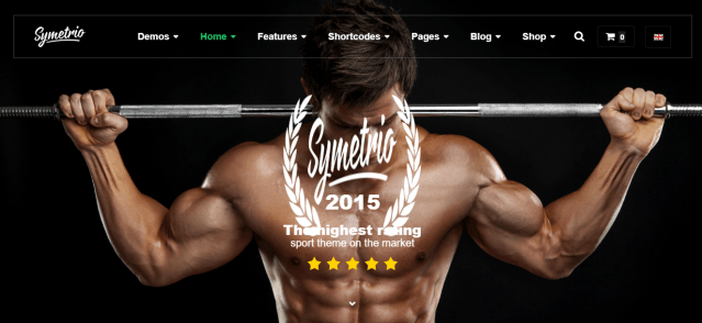 Premium gym WordPress theme