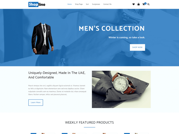 Shopline-Free-eCommerce-WordPress-theme-responsive-WPreviewteam