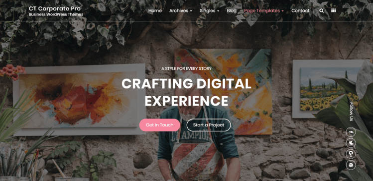 CTCorporate-free-business-WordPress-Themes