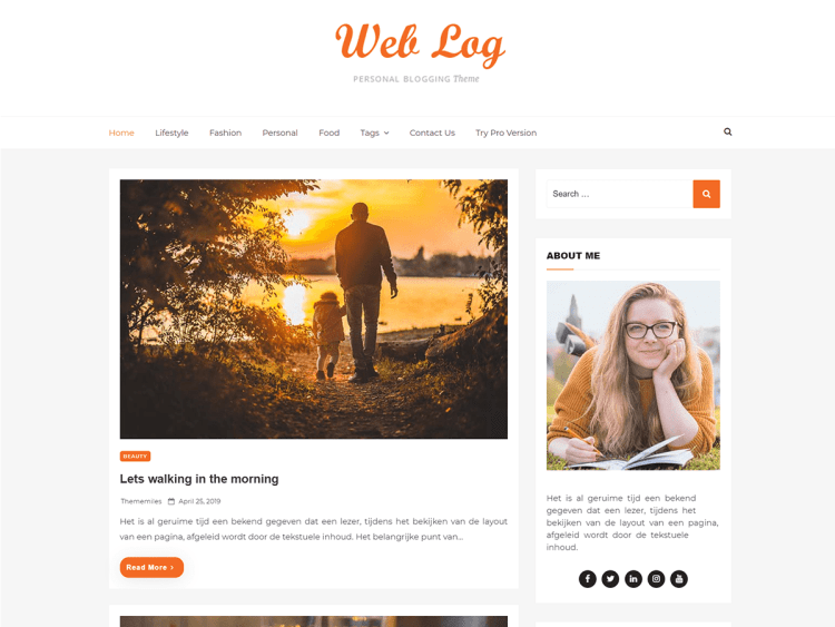 Web-Log-Best-Free-blogging-WordPress-themes-WPreviewteam