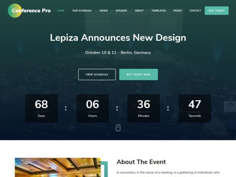 Conference-Pro-WordPress-Theme-WPreviewteam