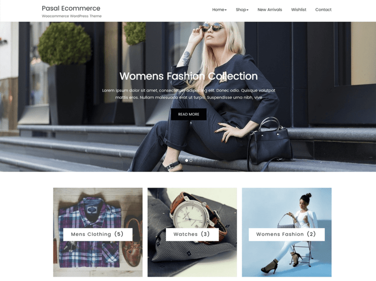 Pasal-eCommerce-free-popular-responsive-eCommerce-WordPress-WPreviewteam