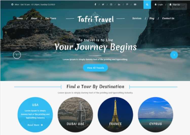 Best-Free-responsive-WordPress-Travel-Theme-Tours-Travels-Agency-WPreviewteam
