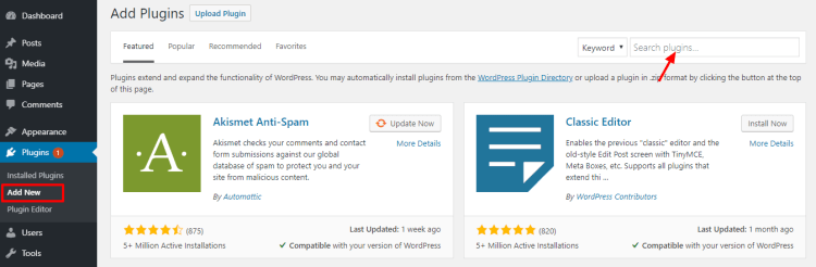 Add-Plugins-WordPress-WPreviewteam