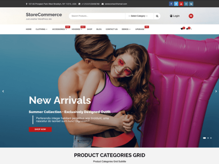 StoreCommerce-best-free-eCommerce-WooCommerce-WordPress-themes-WPreviewteam