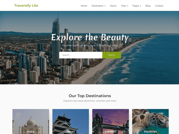 Traversify-best-free-travel-WordPress-themes-CodePixelz