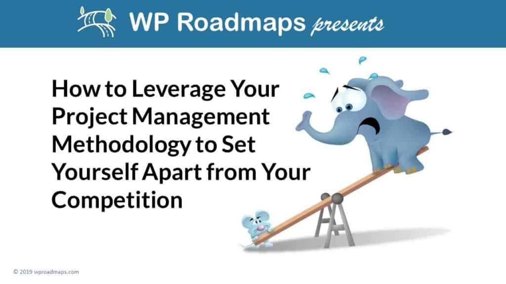 leverage your project management deck title slide