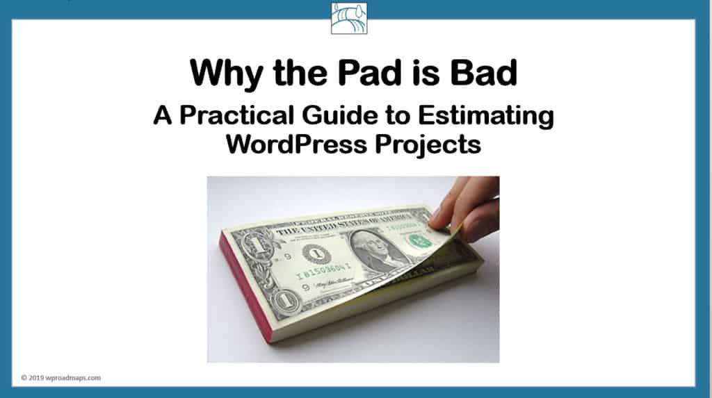 Why the Pad is Bad title slide