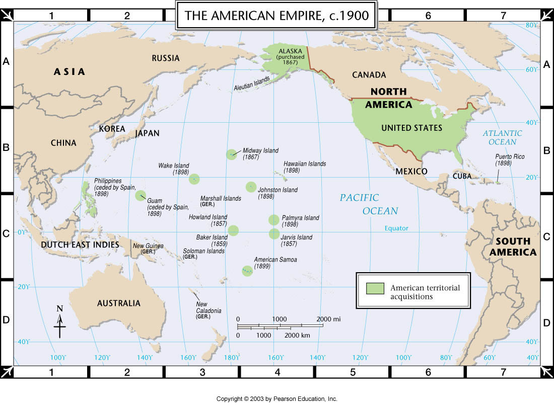 Atlas Map The American Empire C