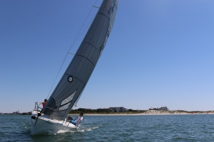 Sailing At Masonboro Inlet