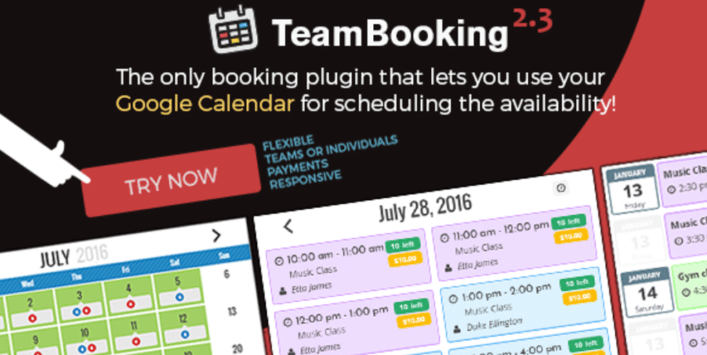 teambooking plugins rendez vous wordpress