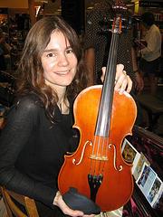 And viola