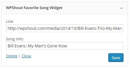 favorite-song-widget