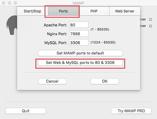 WordPress-local-install-MAMP-3