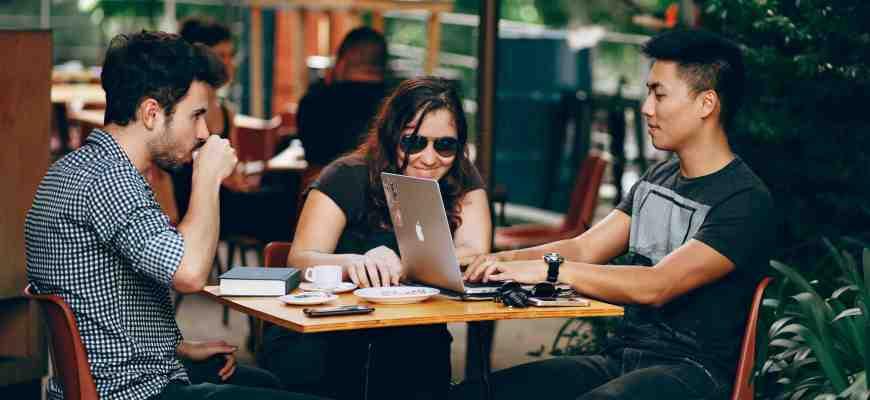 people learning wordpress