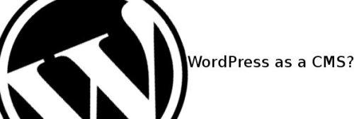 wordpressasacms