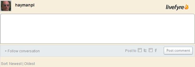 Livefyre Comments Plugin