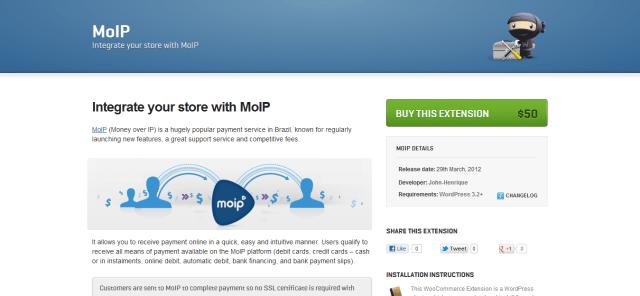 MoIP-Money Over IP