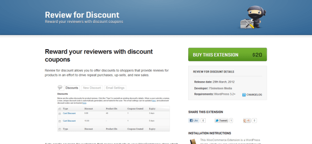 Review for Discount Coupons