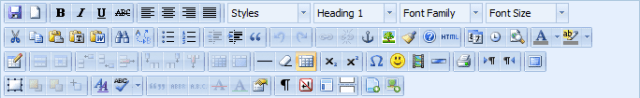TinyMCE Advanced WordPress Editor Plugin