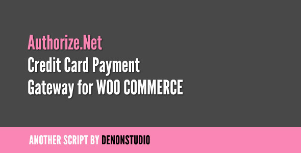 Authorize.net Credit Card Gateway