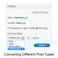 Change Post Type
