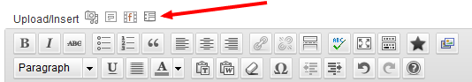 form icon above editor
