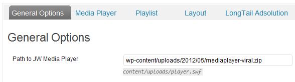 player file path