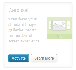 Activate Carousel