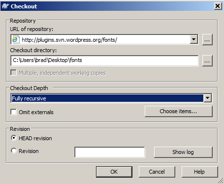 Checkout Plugin File Directories