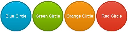 code to create button circles