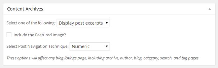 content archives