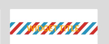 widget title image