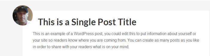 single post corner image