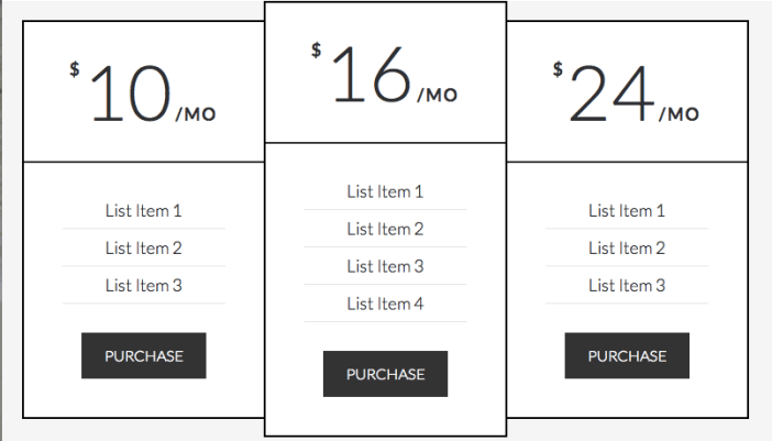 pricing-table-html