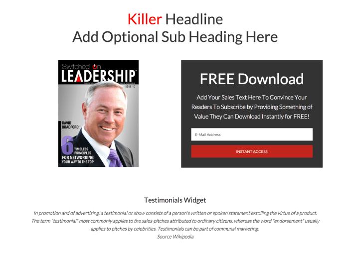 sales-template