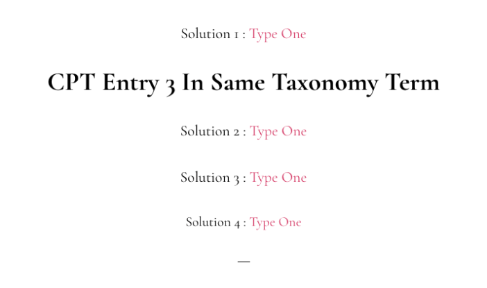 Link To Taxonomy Term Archive Page