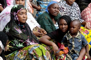 Internally Displaced Women in Bangui, Central African Republic UN Photo/Evan Schneider