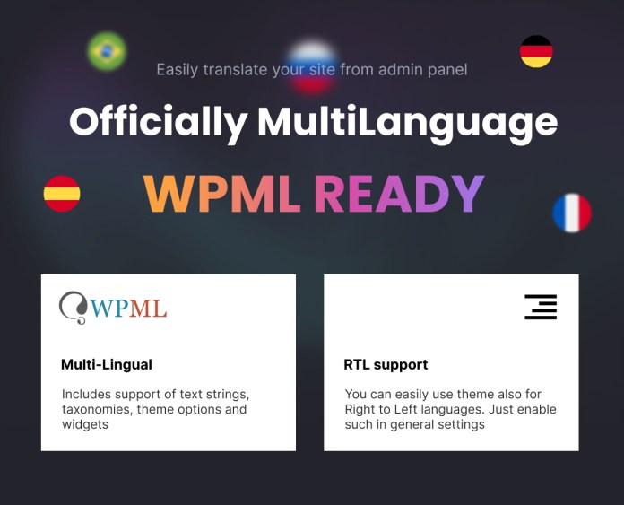 WPML and multi language